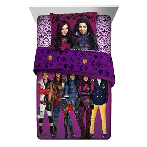 Disney Descendants Comforter Sham Set 2 pieces Twin Full Size