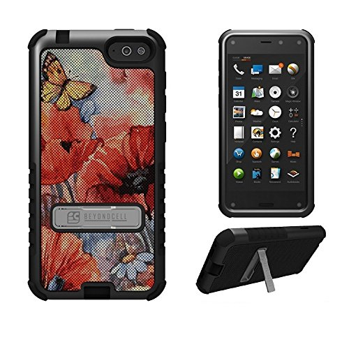 Beyond Cell TriShield Series Case with 3 Protective Layers for Amazon Fire Phone (AT&T) - Non-Retail Packaging - Spring Canvas (Att Amazon Fire Phone)