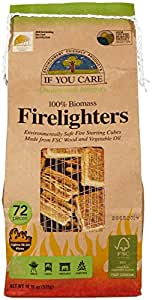IF YOU CARE FSC Certified Firelighters (CA PROP.65 ONLY), 72 ct