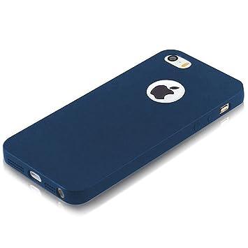 super popolare e0707 ed91e ELV IN-iP5S-mattetpu-blue Soft Back Case Cover for iPhone 5S (Blue)