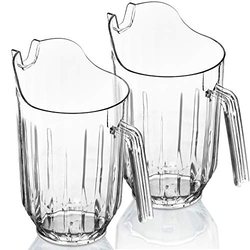 clear plastic water pitcher - 6