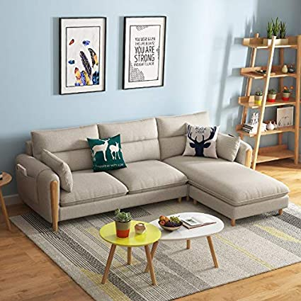 Amazon Com Nordic Fabric Sofa Combination Simple Sofa Chair Living