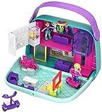Polly Pocket GCJ86 Pocket World Shopping Mall Compact Play Set, Multi-Colour