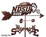 NORTH DAKOTA STATE UNIVERSITY NDSU BISON FLAT POST Mount Weathervane by SWEN Products
