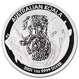2021 AU Australian 1 oz Silver Koala Coin Brilliant