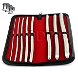 DDP 8 PIECE DILATOR SET WITH POUCH - HEGAR SOUNDS DILATOR SET STAINLESS STEEL