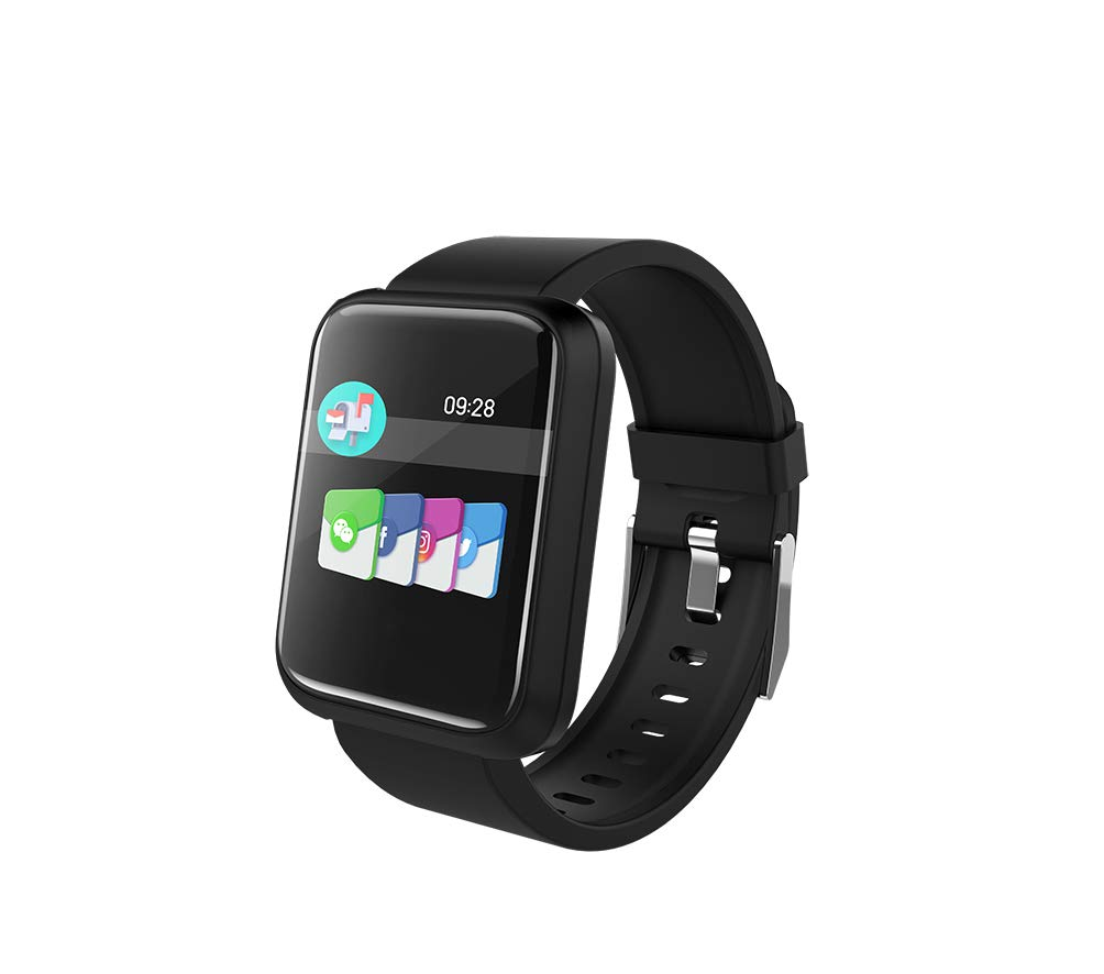 Brigmton Reloj Smart BSPORT-17-N Negro: Amazon.es: Electrónica