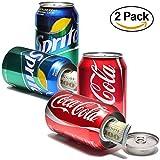 Coca Cola Coke Sprite Diversion Safe Can 2PK Stash Lemon Drink Cash Money Jewellery Keys Secret Compartment Pop Can, Includes an Exclusive WeNeedBongs(TM) Scoop Card: 2 Pack Sold by WeNeedBongs(TM)