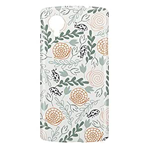 Loud Universe Nexus 5 Green and Wild Print 3D Wrap Around Case - Multi Color