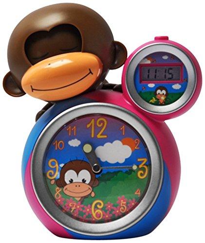 Babyzoo BZ-90001 - Despertador de mono adormilado. Color rosa: Amazon.es: Bebé