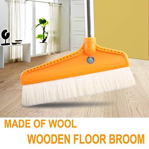 Digitare una scopa di lana di legno soffice pavimento Sweep proteggere il pavimento in legno piastrella ceramica tatami Anti statico MicrofiberDuster SAOBA