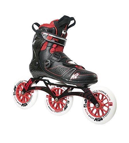 メトリックネブ逃げるK2 Skate Mod 125 Inline Skates Size 13 Black/Red 【You&Me】 [並行輸入品]