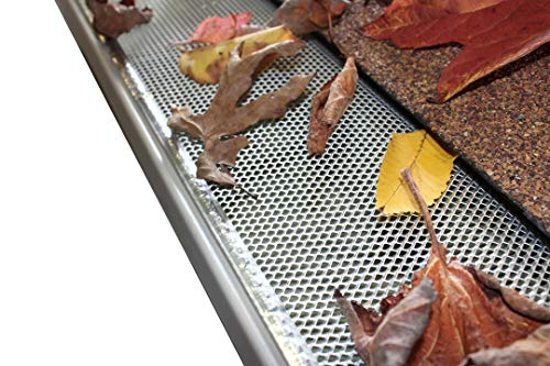 5'' Small Hole Speed Screen Gutter Guard/Gutter Protection/Leaf Protection (200ft/box) by Lynch Aluminum (Image #2)