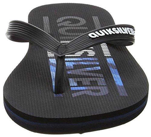 Xkkb Negro Blue Black para Quiksilver Chanclas Hombre Combo Molokai Wordmark Black XSxq7Zwp8v