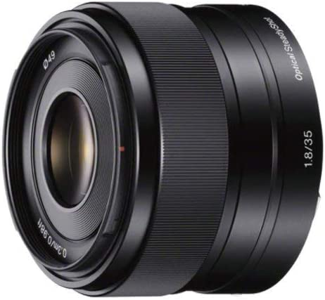 Sony SEL35F18 35mm Prime Fixed Lens