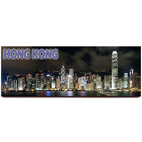 Hong Kong skyline panoramic fridge magnet Hong Kong