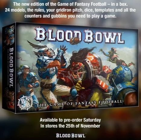 Blood Bowl New Edition Core Game - Games Workshop ( 200-01-60 ) ()