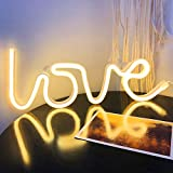 Love Neon Signs for Wall Decor,USB or Battery LED