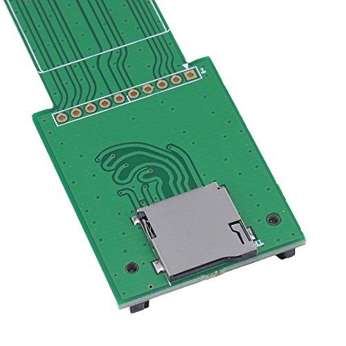 R Digital Voltmetre TOOGOO LED Etanche Digital Voltmetre Voltage Numerique Voiture Car Panneau Metre12-24V vert