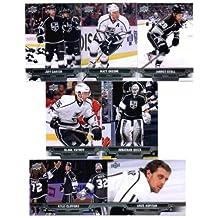 2013-14 Upper Deck NHL Hockey Los Angels Kings Series 1 & 2 Veterans Team Set -14 Cards Including: Jarret Stoll Matt Greene Jeff Carter Kyle Clifford Jonathan Quick Slava Voynov Anze Kopitar