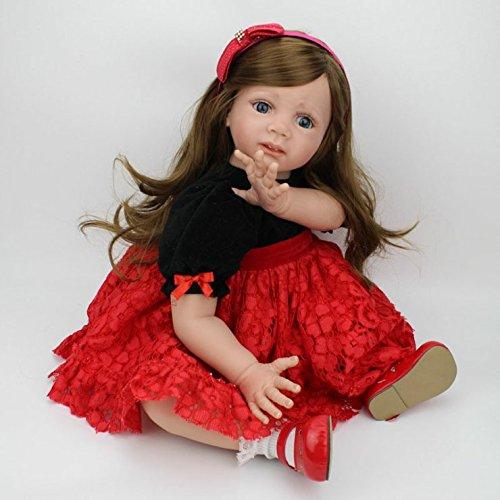 Dreamrunner Reborn Toddler Doll 60cm Big Girl Vinyl Soft