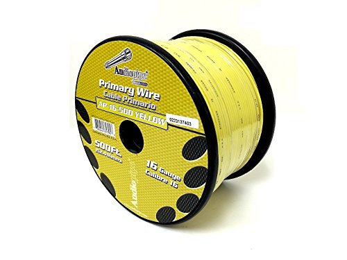 Invisible Dog Fence Wire 16 Gauge 500 FEET YELLOW InGround Fence Burial Boundary