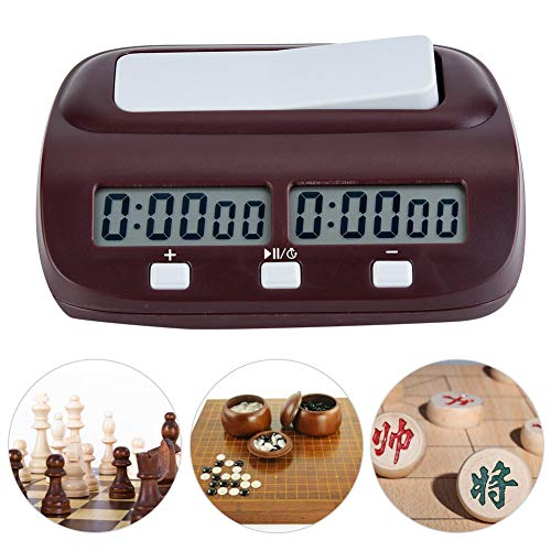 Best Quality Leap Digital Chess Clock Board Game Set Timer Chinese Games Electronic, Chess Set Clock - Wood Chess Clock, Chess Clock, Digital Chess Timer, Digital Game Timer, Chess Timer