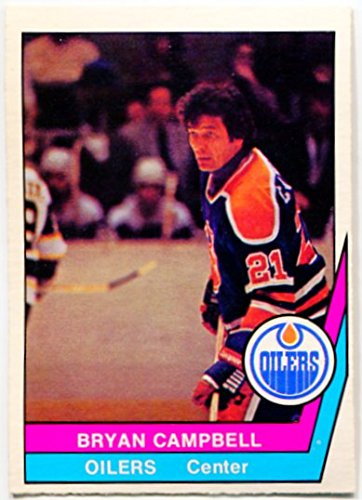 new product 260e9 ee01d Amazon.com : 1977/78 OPC WHA Bryan Campbell Card #22 ...