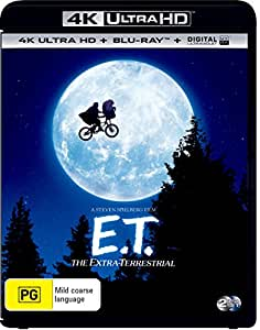 E.T. The Extra Terrestrial (4K Ultra HD + Blu-ray + Digital)