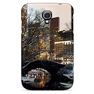 samsung galaxy s4 Specially phone cover shell style Classic shell winter in central park nyc