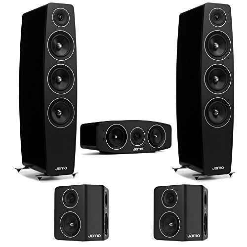 Jamo 5.0 Channel Home Theater System With C-109 Floorstanding Speakers by Jamo