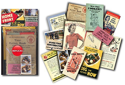 Home Front Memorabilia Gift Pack with over 20 pieces of Replica Artwork by Sweet and ()