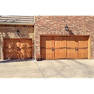 Decorative Carriage House Garage Door Hardware Kit - Screw Mounted