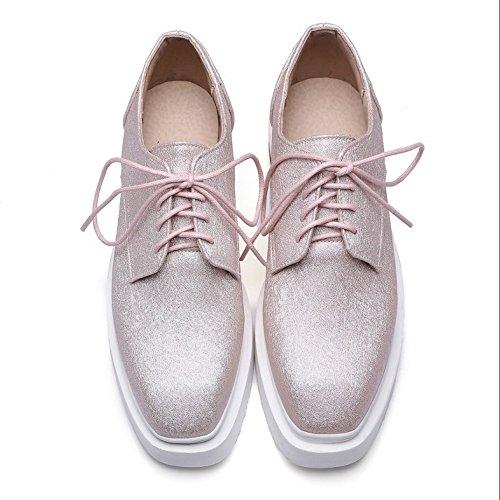 Sneaker Pumps Fashion Women TAOFFEN Pink Flatform 178w6