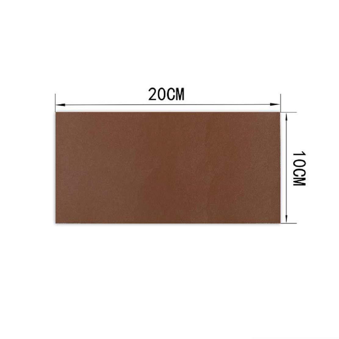 Yalulu Lot de 10 Patch de R/éparation en Cuir kit Beige Auto-Adh/ésif Patch r/éparation Autocollant pour Veste Sol canap/é Coussin DIY Art Craft