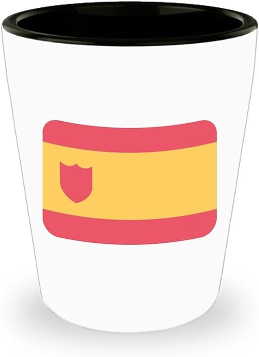 Bandera de España Emoji vasos de chupito: Amazon.es: Hogar