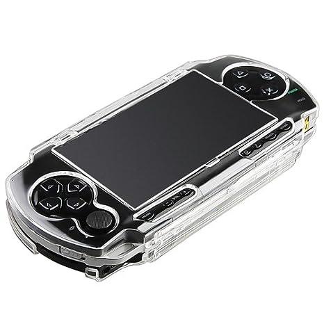 Para Sony PSP 1000 Claro Dura Cristal Funda Carcasa ...