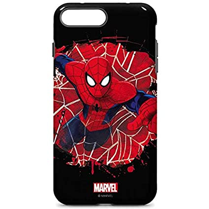 Amazon.com: Marvel Spider-Man iPhone 7 Plus Pro Funda ...