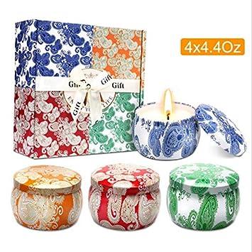 Amazon.com: Velas de aromaterapia románticas para cumpleaños ...