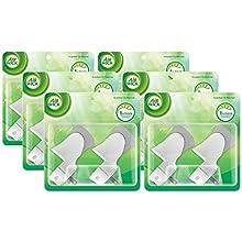 Air Wick Scented Oil Warmer Plugin Air Freshener, Pack of 6 (6 X 2ct)