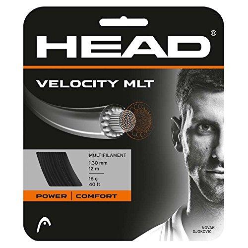 HEAD Velocity Tennis String Set, 17g, Natural - 17g String Set