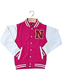 Amazon.com: Pinks - Varsity Jackets / Lightweight Jackets ...
