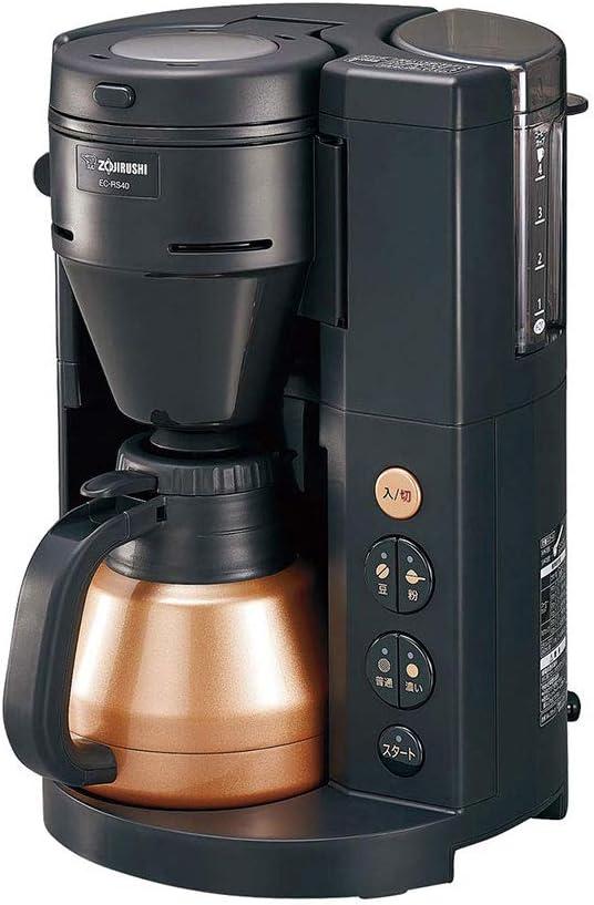 Zojirushi Coffee Maker 珈琲通 (Coffee-Tsu) EC-RS40-BA (Black)【Japan Domestic Genuine Products】【Ships from Japan】