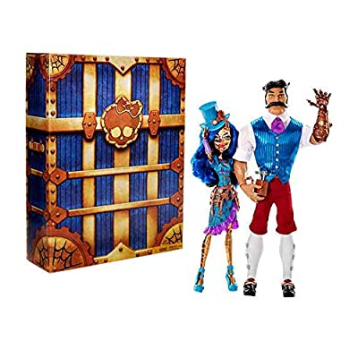SDCC 2016 Exclusive Monster High Robecca Steam & Hexiciah Steam 2 Pack Doll Set: Toys & Games
