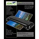 Apache Laminating Pouches, 3 mil (Letter Size, 25 Pack)