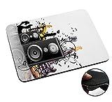 Best Speaker Musics For PC Laptops - 003762 - Abstract Speaker Guitar Music Design Macbook Review