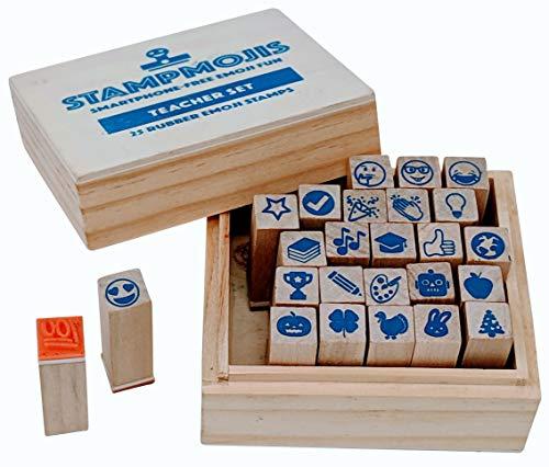 Teacher Stamps by Stampmojis (Teacher Stamp Set)