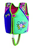 Speedo Kids' UPF 50+ Begin to Swim Printed Neoprene Swim Vest, Aqua, Medium