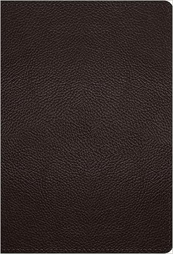 ESV Large Print Compact Bible, Buffalo Leather