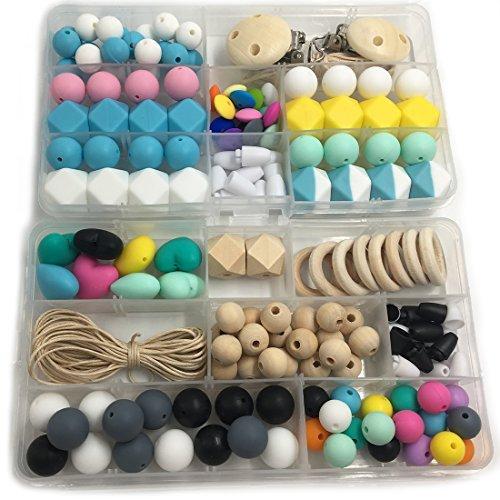 【爆買い!】 Amyster DIY Toys Geometry Hexagonal Round Clasp Silicone Beads Wooden Beads Baby Beads Pacifier Clips Peach Heart ring Silicone Abacus Peach Heart Beads Clasp For Baby Tooth Nursing Necklace/Bracelet (A165+A109) [並行輸入品] B078WWK2YV, ハイアールストア:5b39efdb --- a0267596.xsph.ru